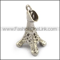 Delicate Stainless Steel Casting Pendant   p003394