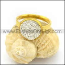 Graceful Popular Stainless Steel Ring  r002651