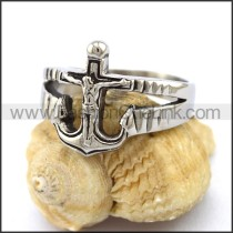 Unique Stainless Steel Casting Ring     r003212