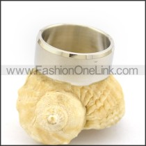 Graceful Popular Stainless Steel Ring  r002638