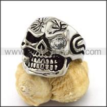 Delicate Stainless Steel Skull Ring  r003162