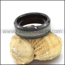 Unique Stainless Steel Casting Ring  r003090