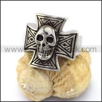 Fashion Stainless Steel Skull Ring  r003385