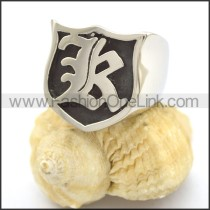 Fashion Stainless Steel Casting Ring r002352