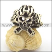 Fashion Stainless Steel Biker Ring  r002344