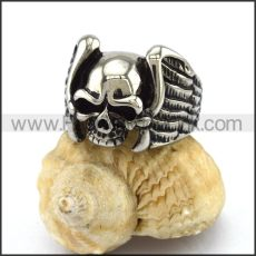 Exquisite Stainless Steel Skull Ring  r002882