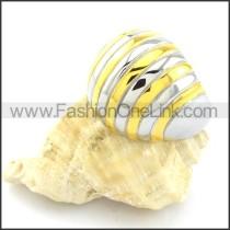 316L Fashion  Steel Plating Ring  r000762