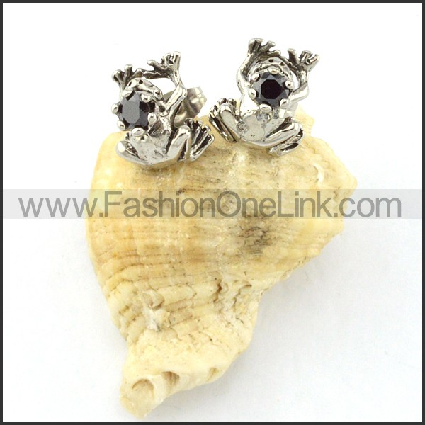 Lovely Stainless Steel Animal Earrings    e000422