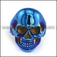 Stainless Steel Skull Ring  r003685