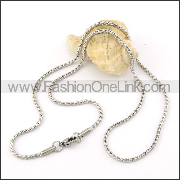 Delicate Stainless Steel  Small Chain    n000409
