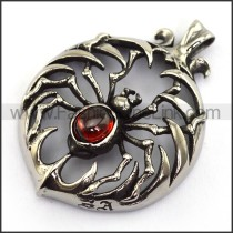 Delicate Stainless Steel Casting Pendant   p003895