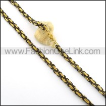 Chic Plated Necklace    n000350