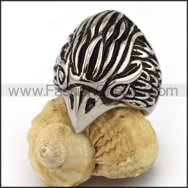 Stainless Steel Animal Ring  r003566