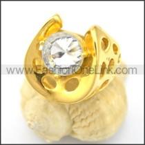Unique Stone Ring r001942