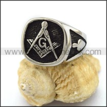 Exquisite Stainless Steel Casting Ring r003148