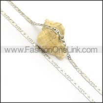 Silver Flat Hollowed-out Heart Plated Necklace n000895