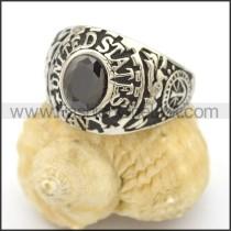 Vintage Stone Ring  r002763