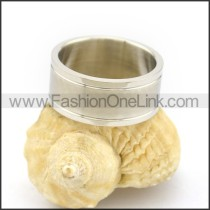 Graceful Popular Stainless Steel Ring  r002636