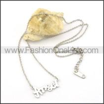 Silver ANGEL Fashion Necklace  n000470