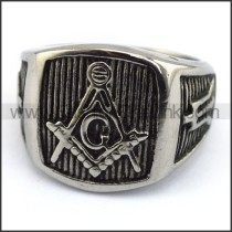 Vintage Stainless Steel Casting Ring  r003492