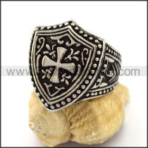 Delicate Stainless Steel Casting Ring r003171