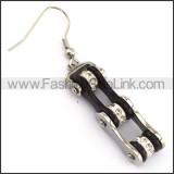 Fashion Stainless Steel Biker Earrings    e001065