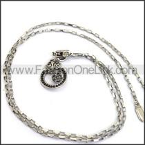 Decorous Crown Necklace    n000235
