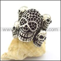 Delicate Skull Ring r001798
