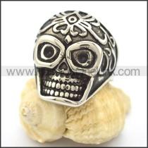 Stainless Steel Skull Ring  r002095