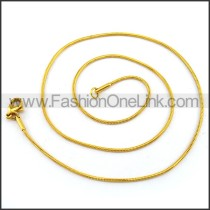 Stainless Steel Plated Necklace n001218