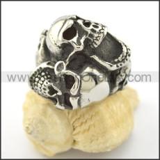 Vintage Skull Ring r001586