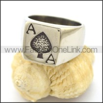 Delicate  Stainless Steel Casting Ring r002335