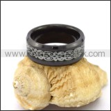 Elegant Stainless Steel Ring r003097