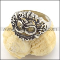 Exquisite Stainless Steel Ring r001465