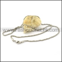 Twisted Rope Small Chain     n000295