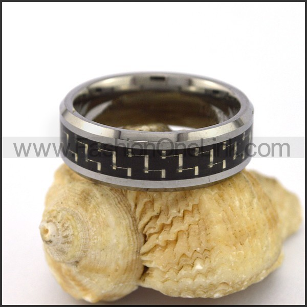 Elegant Stainless Steel Ring r003104