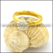 Graceful Popular Stainless Steel Ring  r002650