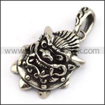 Exquisite Stainless Steel Casting Pendant   p003924
