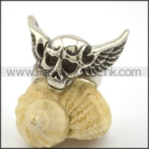 Unique Stainless Steel Skull Ring  r002710
