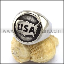 Delicate Stainless Steel Casting Ring r002866