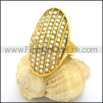 Delicate Shiny Stone Ring  r002177