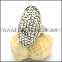 Delicate Shiny Stone Ring  r002176