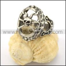 Dlicate Skull Ring r001569