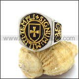 Vintage Stainless Steel Casting Ring  r003240
