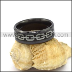 Elegant Stainless Steel Ring r003095