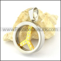 Exquisite Stainless Steel Plating Pendant  p000493