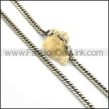 Decorous Stamping Necklace n000677