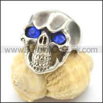 Stainless Steel Delicate Skull Ring r002027