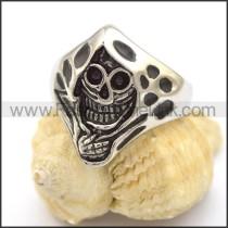 Delicate Skull Ring  r001910