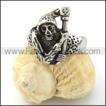 Stainless Steel Unique Design Ring r000823